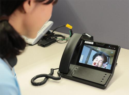 ほのぼの,コロナ,感染症,TV通話,IT面会,ビデオ通話,遠隔診療